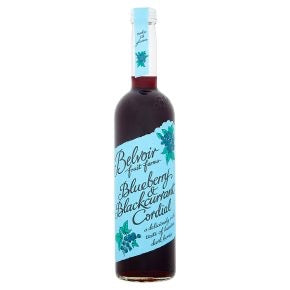 Belvoir Blueberry and Blackcurrant Cordial - 500ml - SW Coast Refills