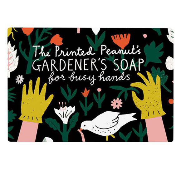 The Printed Peanut Gardeners Soap with Poppy Seed - SW Coast Refills