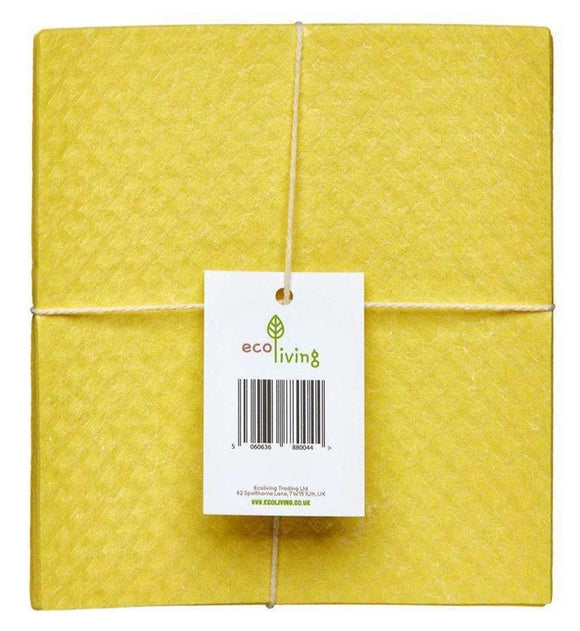 Compostable Sponge Cleaning Cloths - 4 pack - SW Coast Refills