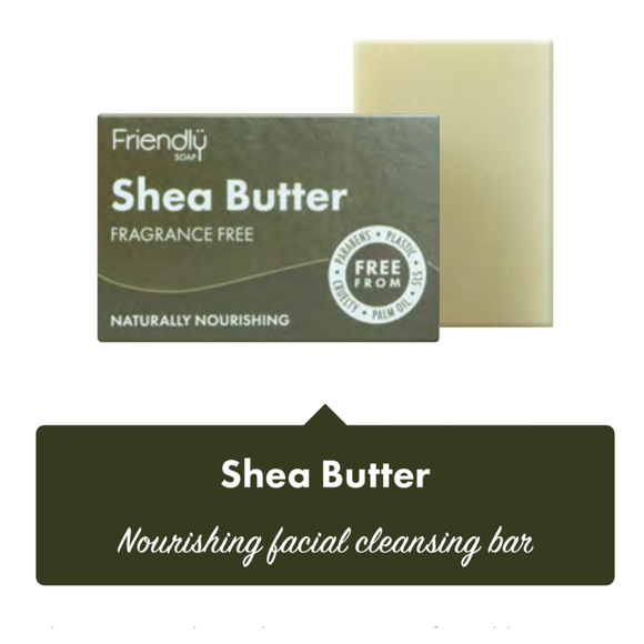 Friendly Soap Shea Butter Facial Cleansing Bar - SW Coast Refills