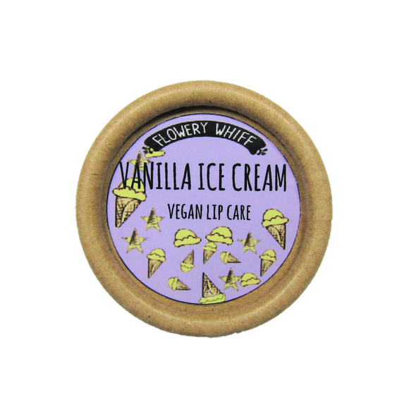 Vanilla Ice Cream Lip Balm Vegan 🌱 - SW Coast Refills