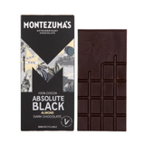 Montezuma*s 100% Absolute Black Chocolate with Almonds - 100g - SW Coast Refills