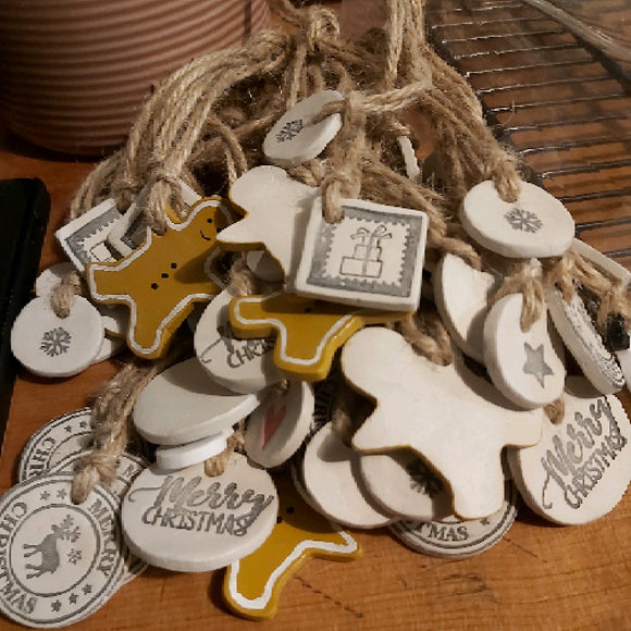 Clay Gift Tags - SW Coast Refills