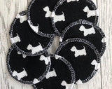 Reusable Face Pads with Wash Bag - SW Coast Refills