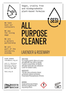 SESI All Purpose Cleaner Refill - SW Coast Refills