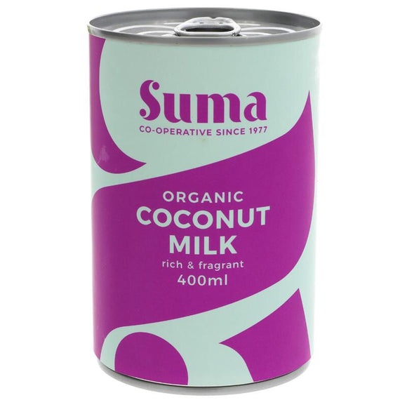 Suma Organic Coconut Milk - 400ml - SW Coast Refills
