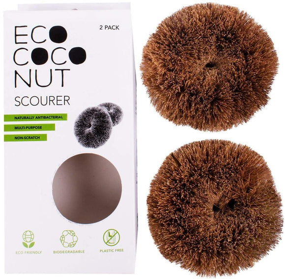 EcoCoconut Scourers - Pack of 2 - SW Coast Refills
