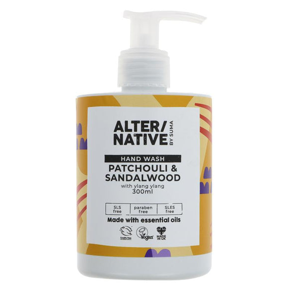 Hand Wash Soap Patchouli & Sandalwood - SW Coast Refills