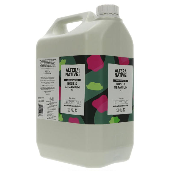 Alter/Native Hand Wash Rose & Geranium Refill - SW Coast Refills