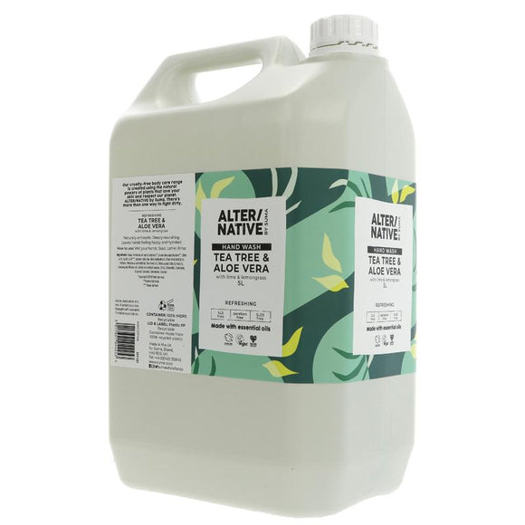 Alter/Native Hand Wash Tea Tree & Aloe Vera Refill - SW Coast Refills