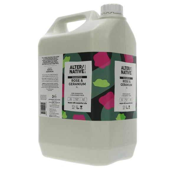 Alter/Native Shampoo Rose & Geranium Refill - SW Coast Refills