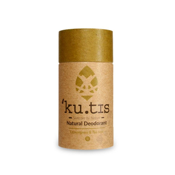 Kutis Skincare Lemongrass & Tea Tree Deodorant Stick - SW Coast Refills