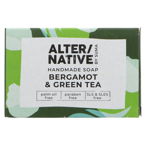 Bergamot & Green Tea Soap Bar - SW Coast Refills