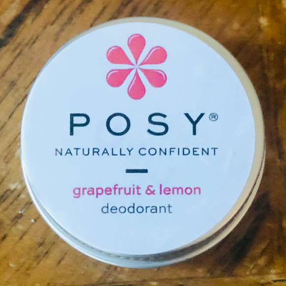 Posy Travel Deodorant Grapefruit & Lemon - 15g - SW Coast Refills