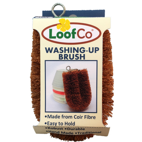 LoofCo Coir Fibre Washing-Up Brush - SW Coast Refills