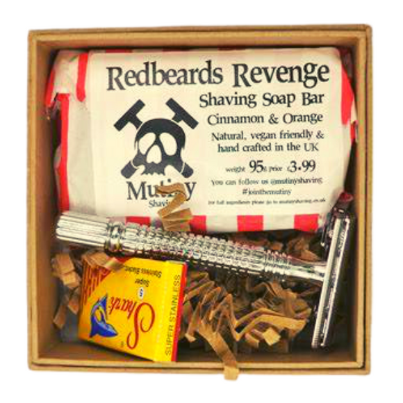 Mutiny Mini Razor Set - Cinnamon & Orange - SW Coast Refills