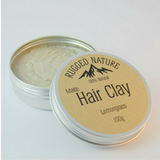 Natural Vegan Hair Clay - Lemongrass - SW Coast Refills