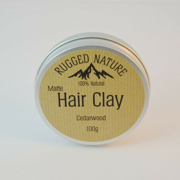 Natural Vegan Hair Clay - Cedarwood - SW Coast Refills