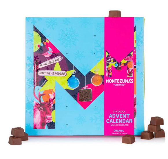 Montezuma's Milk Chocolate Advent Calendar - 240g