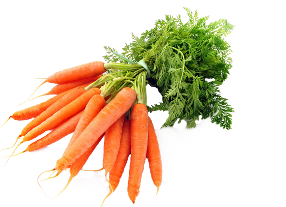 Bunched Carrots with Tops - 500g | Loose Vegetables | Groceries | SW Coast Refills