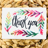 Thank You  Greeting Card - plantable seeded cards for all occasions | Birthday Cards SW Coast Refills
