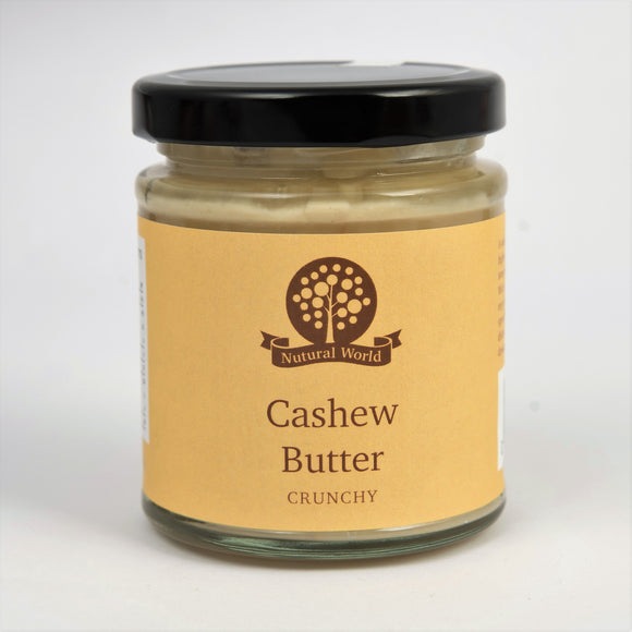 Nutural World Cashew Nut Butter | Natural Nut Butters | SW Coast Refills