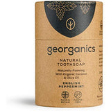 Georganics Organic Natural Toothsoap Peppermint -  60ml