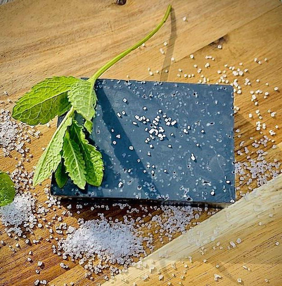 Charcoal, Peppermint & Himalayan Salt Soap