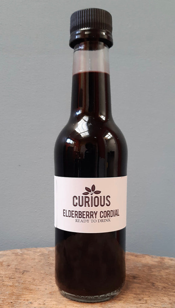 Local Seasonal Elderberry Cordial - 250ml