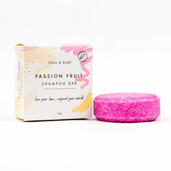 Passionfruit Solid Shampoo Bar