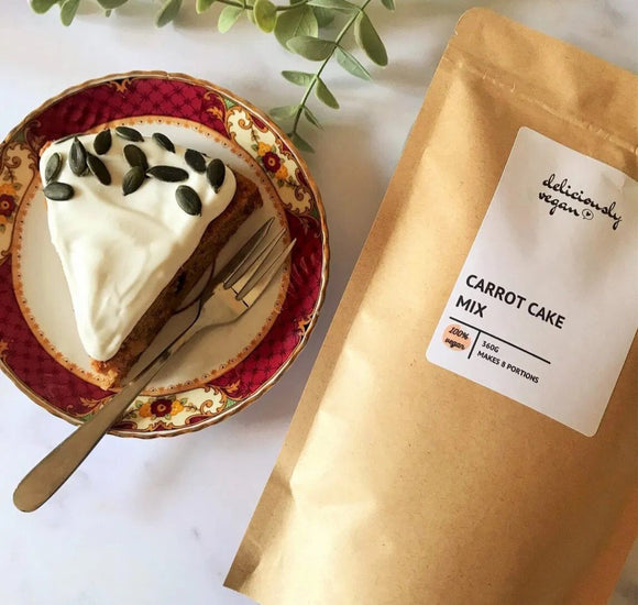 Deliciously Vegan Carrot Cake Mix – 360g
