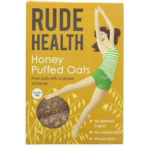 Rude Health Honey Puffed Oats | Store Cupboard | SW Coast Refills