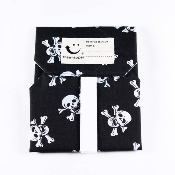 Skulls Reusable Velcro Sandwich Wrap
