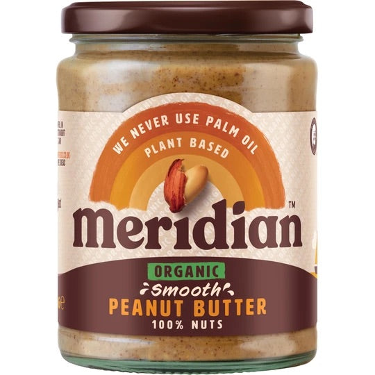 Smooth Organic Peanut Butter - 470g