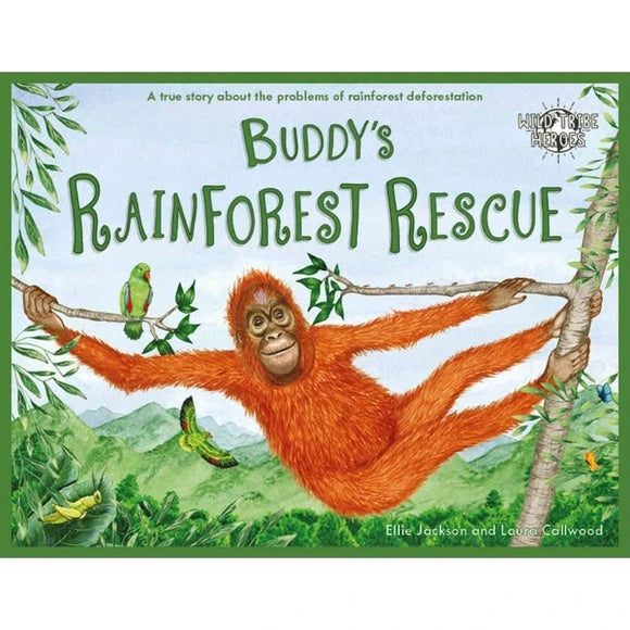 Buddy's Rainforest Rescue - Signed Children's Book