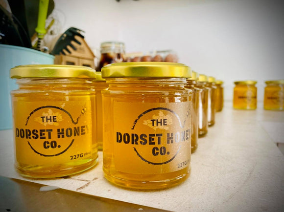 The Dorset Honey Co. Jars of Runny Dorset Honey | Dorset Local Produce | Spreads & Preserves | Store Cupboard | SW Coast Refills