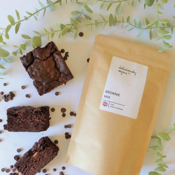 Deliciously Vegan Chocolate Brownie Mix – 360g