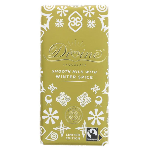 Milk Chocolate with Winter Spice - 90g