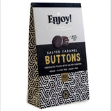 Enjoy! Salted Caramel Filled Chocolate Buttons - 96g