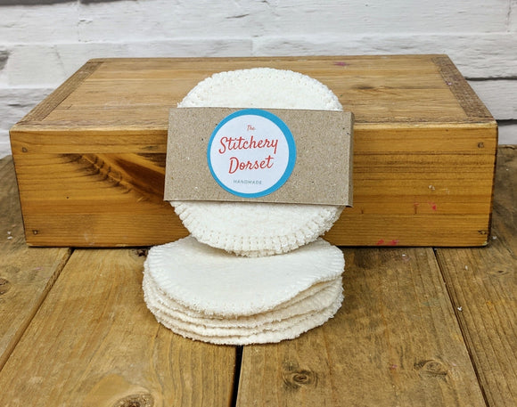 Natural Make Up Pads - The Stitchery Dorset