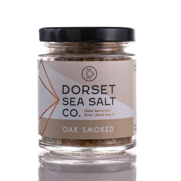 OAK SMOKED DORSET SEA SALT 125G | SW Coast Refills