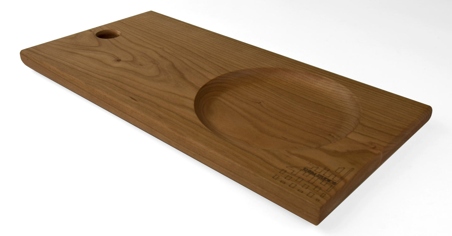 Simple Large Cutting Board with inset