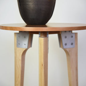 Round Side Table with Cherry Top