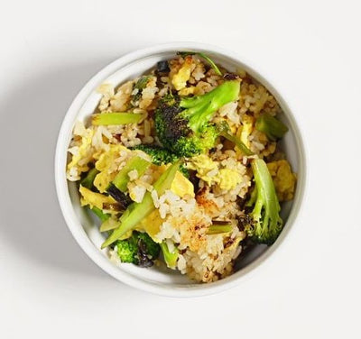How to Cook Broccoli Egg Fried Rice