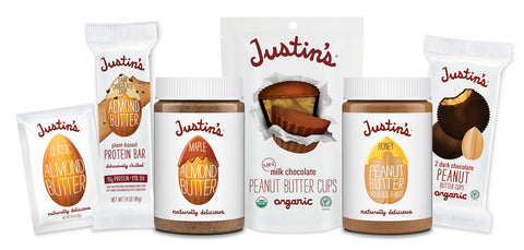 Justin's Nut Butter packaging