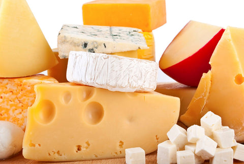 dairy products cheese board
