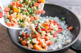 how to saute frozen vegetables