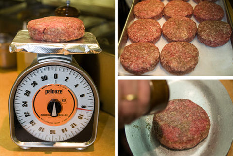 8 oz minetta burger piedmontese