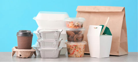 no contact food delivery left on doorstep