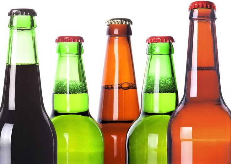 colorful array of non-alcoholic for teetotal restaurant customers
